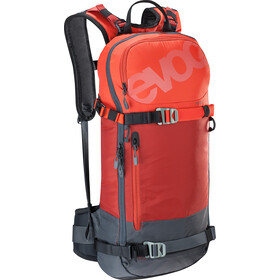 EVOC FR Day Sac à dos 16l, chili red-carbon grey